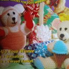 L@@K! *BEFORE & AFTER TEDDIES* - NEW CROCHET PATTERNS