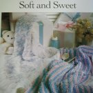 L@@K! *SOFT AND SWEET AFGHANS*- 2 NEW CROCHET PATTERNS