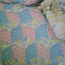 L@@K! *BABY BLOCKS*  BLANKET- NEW EASY CROCHET PATTERN