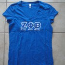 ZPB v-neck applique shirt