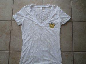 SGR v-neck burn-out shirt