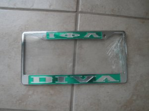 IPL license frames