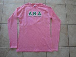 Alpha Kappa Alpha long sleeve t