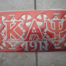 Kappa Alpha Psi-license tag