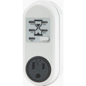 (Battery charger timer) - outlet power supply digital
