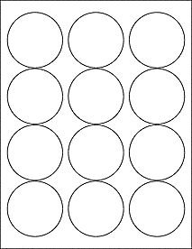 Strong adhesive blank labels stickers white matte jar tins