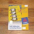 (10 Sheets) Laminating 9 x 12 Stick Self-Adhesive 3mil