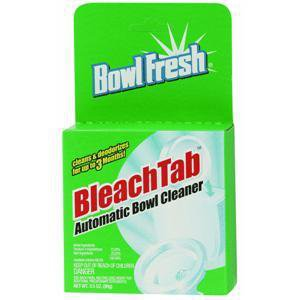 (One Year Supply) BowlFresh toilet bowl bleach cleaner automatic tabs tablets