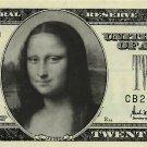Personalized $20 novelty bill money men's women's gift