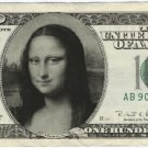 Funny money fake custom novelty play party casino gag bookmark personalized $100