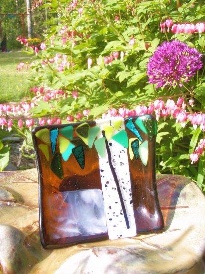 Glass Alaska Birch Art