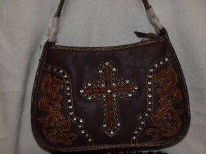 Western style cross handbag