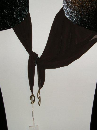 Dolce $ Gabbana  silk scarf brown
