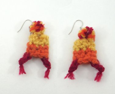 Cunning Jayne Hat Earrings