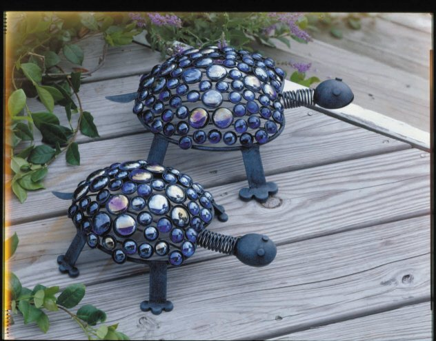 Nested Marble Turtles