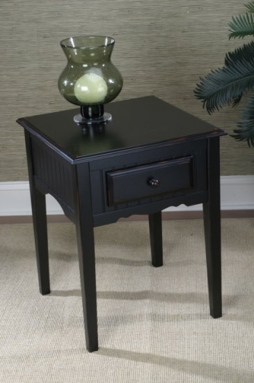 End Table w/ Antiquing