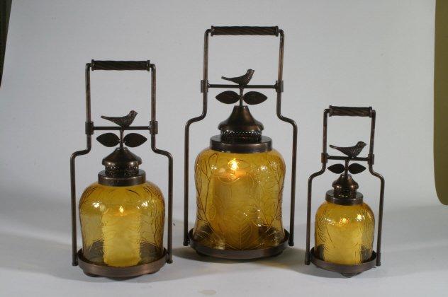 Nested Bird Lanterns