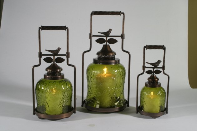 Nested Bird Lanterns