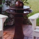 Faux Copper Floor Fountain