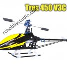 T-rex 450 Sports V3C  RC helicopter ARF Carbon Kit for Align Trex 450 sports
