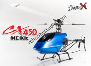 CopterX CX450ME 2.4GHz Radio Control Helicopter RC Kit