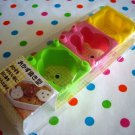 Ciao animals bento food cutters