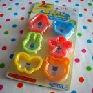 Cookie cutters set B