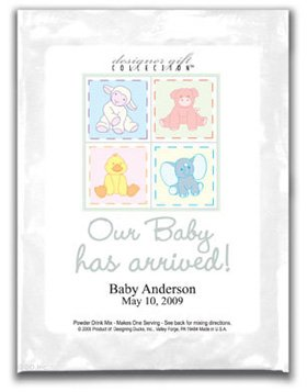 Our Baby Has Arrive-Animal Quilt