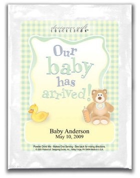 Our Baby Has Arrived-Gingham-Neutral