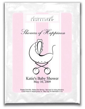 Showers Of Happiness-Stripes-Pink-Carriage
