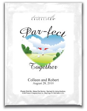 Par-fect Together-Two Flags Heart Shaped