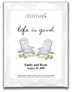 Life Is Good-Beach Chairs w/Heart