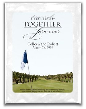 Together Fore-ever-Golf Flag Fairway