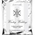 Wintry Wedding-Single Snowflake