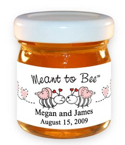 Meant To Bee-Bees With Pink Hearts