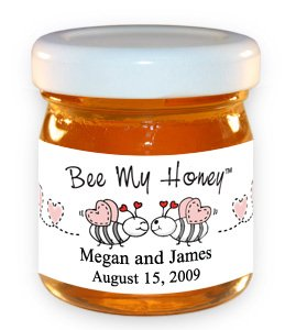 Bee My Honey-Bees with Pink Hearts
