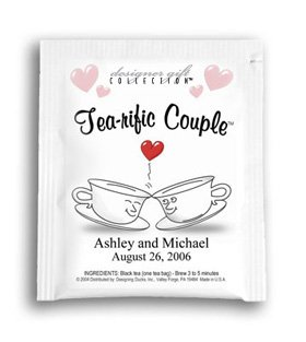 Tea-rific Couple-Kissing Cups