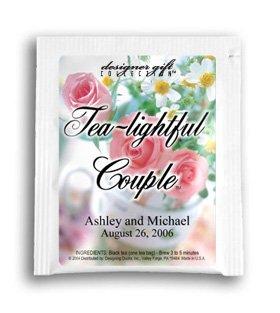 Tea-lightful Couple-Garden Floral