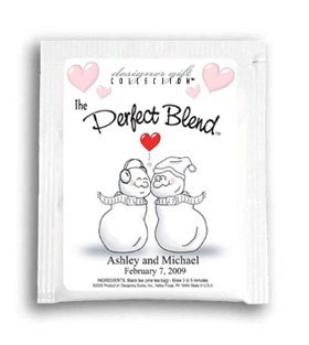 The Perfect Blend-Kissing Snow Couple