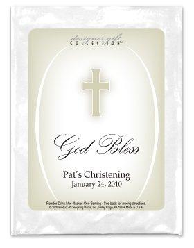 God Bless-Tan Cross