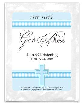 God Bless-Gingham-Blue