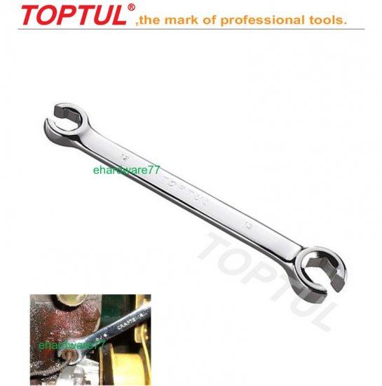 TOPTUL - Flare Nut Wrench 8mm x 9mm (AEEA0809)