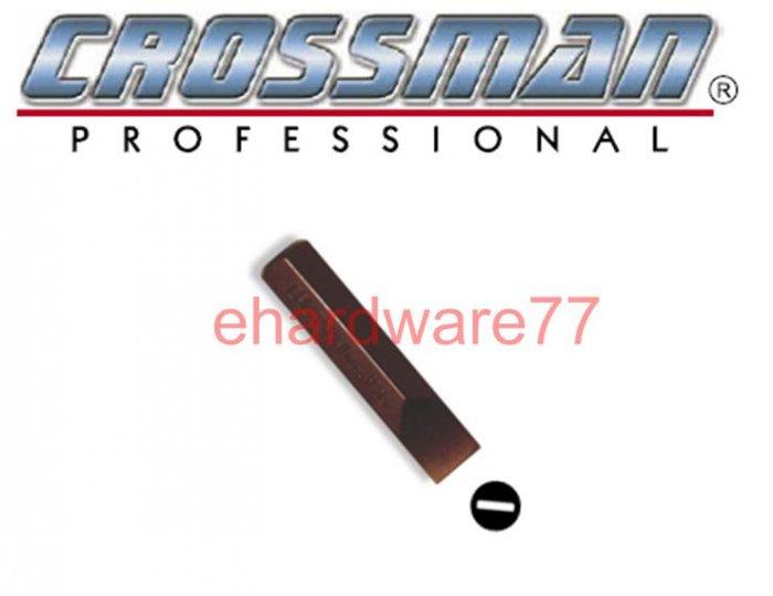 "CROSSMAN 5/16"" Hex Shank Slotted Impact Driver Bit 8mmx36mmL"