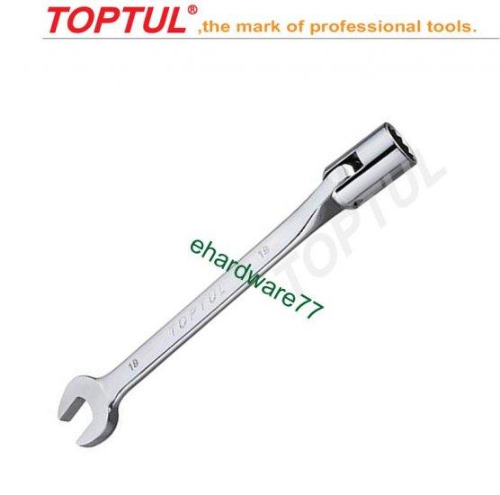 TOPTUL - Swivel Socket Combination Wrench 16mm (AEEB1616)