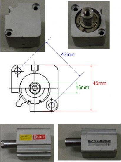 AIYO Compact Design Pneumatic Cylinder / 10S-1 Series
