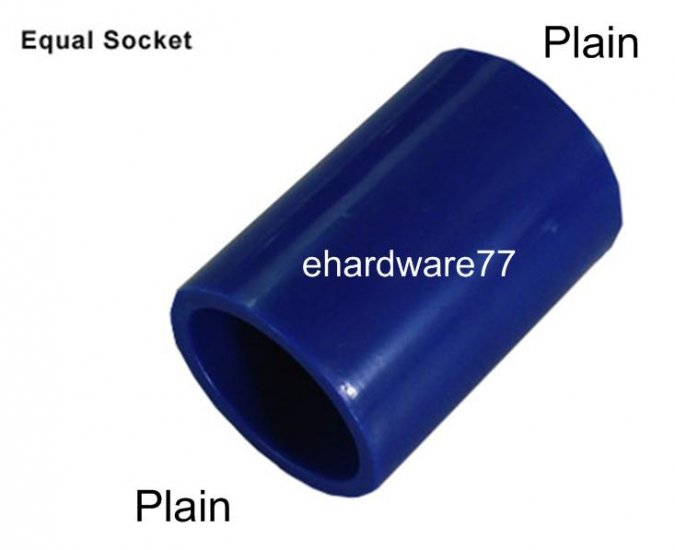 "ABS Equal Socket 20mm (3/4"")"
