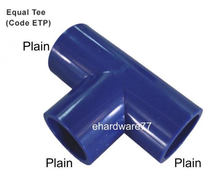 "ABS Equal Tee 15mm (1/2"")"