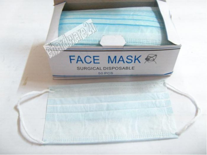 3ply Earloop Surgical Disposable Face Mask 50pcs/Box