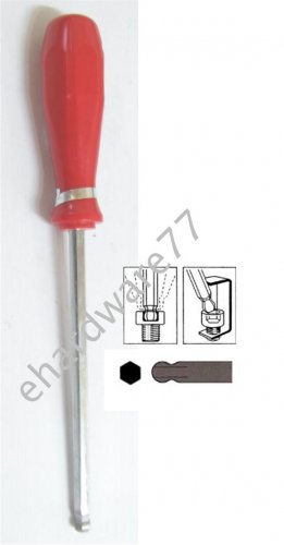 Ball Point Hex Key Screwdriver 6mm