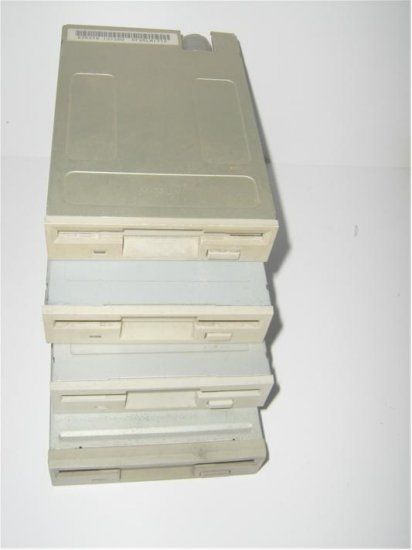 Lot of 4pcs Floppy Disk Drive